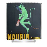 Vintage Poster - Maurin Quina Shower Curtain