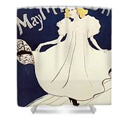 Vintage Poster - May Milton Shower Curtain