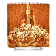 Vintage Summer Still Shower Curtain