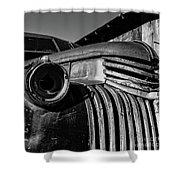 Vintage Truck Jerome Arizona Shower Curtain