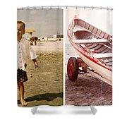 Vintage Wildwood 1961 Shower Curtain