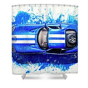 Viper Trails Shower Curtain