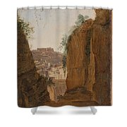Virgil S Tomb  Naples  Shower Curtain