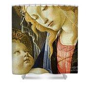 Virgin And Child Renaissance Catholic Art Shower Curtain