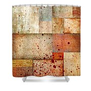 Visceral Shower Curtain