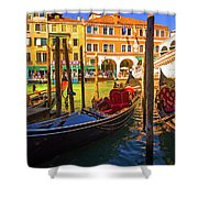 Visions Of Venice Shower Curtain