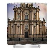 Ordo Visitationis Beatissimae Mariae Virginis Church  Shower Curtain by Jaroslaw Blaminsky