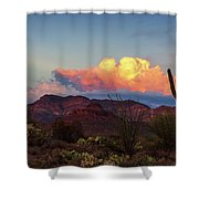 Vivid Moments Shower Curtain by Rick Furmanek