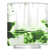 Voices Of A Long Lost Civilization Shower Curtain by Bee-Bee Deigner