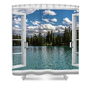 W-77 Shower Curtain