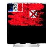 Wallis Futuna Shirt Gift Country Flag Patriotic Travel Oceania Light Shower Curtain