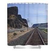 Wallula Gap Shower Curtain by Charles Robinson