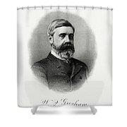 Walter Q. Gresham Shower Curtain