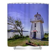 Walton Lighthouse Shower Curtain
