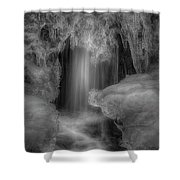 Water And Ice 9 Shower Curtain