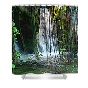 Water Feature  Shower Curtain