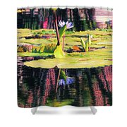 Water Lily 12 Shower Curtain