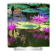 Water Lily 6 Shower Curtain