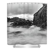 Water Of Fog Shower Curtain