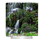 Waterfalls At Seven Star Park Shower Curtain