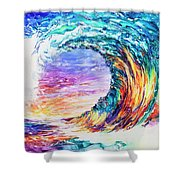 Wave Of Promises Shower Curtain