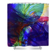 Way Of Escape Shower Curtain by Kate Word