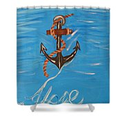 We All Need Hope Shower Curtain