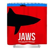 We Need A Bigger Boat Shower Curtain