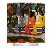 We Shall Not Go To Market Today 1892 Shower Curtain