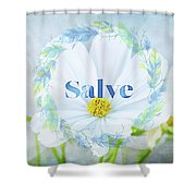 Welcome - Salve Shower Curtain