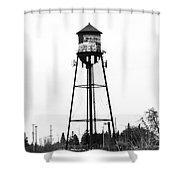Weldwood Water Tower Shower Curtain