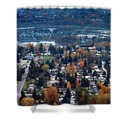 Wenatchee In November Shower Curtain