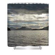 West Coast Islands Shower Curtain