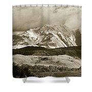 West Coast Range Tasmania Shower Curtain