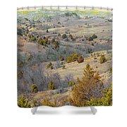 West Dakota Hills Reverie Shower Curtain