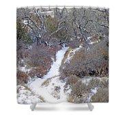 West Dakota January Prairie Shower Curtain