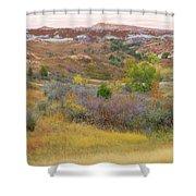 West River Autumn Reverie Shower Curtain