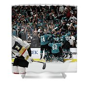 Western Conference Shower Curtain