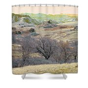 Western Edge Treasure Shower Curtain