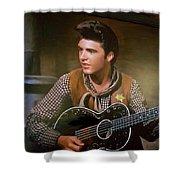 Western Ricky Nelson Shower Curtain