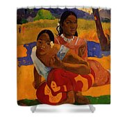 When Are You Getting Married 1892 Shower Curtain