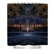 When Courage Springs Forth Shower Curtain