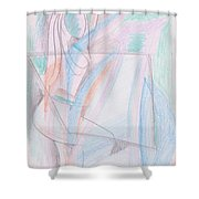 When I Was Teenage Shower Curtain