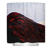 When The Angel Asleep - In Memory Of 2015 Paris Terrorist Attack Shower Curtain by Marianna Mills