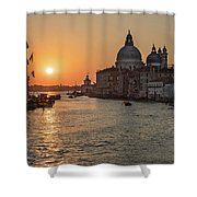 When The New Day Begins Shower Curtain