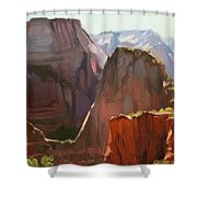 Where Angels Land Shower Curtain by Steve Henderson