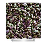 Whirling Pistachios Shower Curtain
