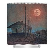 Whistle Of The Past Shower Curtain