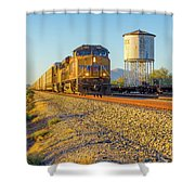 Whistle Through Red Rock Shower Curtain