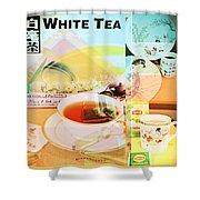 White Tea Blend  Shower Curtain